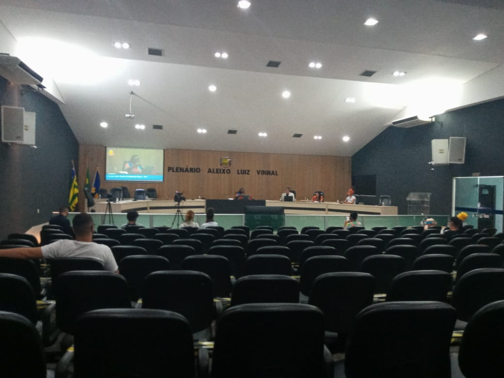 Plenário da Câmara Municipal de Goianésia